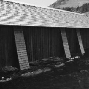 Lech, Holzbrücke / Rudolf Zündel von Zündel, Rudolf