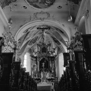 Lech, alte Pfarrkirche / Rudolf Zündel von Zündel, Rudolf
