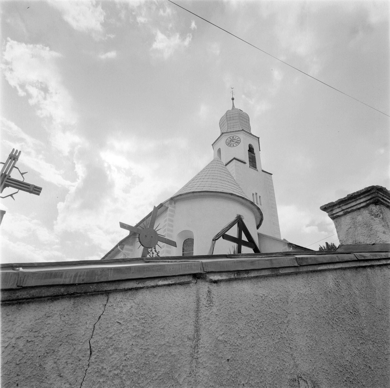 Fontanella, Kirche St. Sebastian und Martin / Rudolf Zündel von Zündel, Rudolf