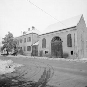 Meiningen, Haus mit Stadel / Rudolf Zündel von Zündel, Rudolf