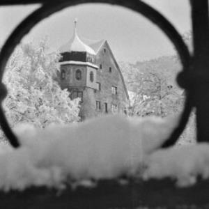 Bregenz im Winter, Deuringschlössle / Rudolf Zündel von Zündel, Rudolf