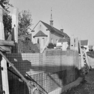 Bregenz Kapuzinerkloster, Sanierung der Klostermauer / Rudolf Zündel von Zündel, Rudolf