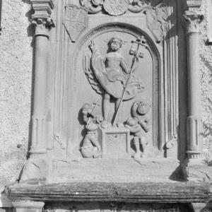 Bregenz, Galluskirche, Reliefs / Rudolf Zündel von Zündel, Rudolf
