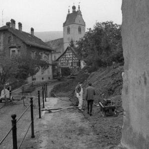 Kapuzinerkloster Bregenz, Renovierung der Klostermauer / Rudolf Zündel von Zündel, Rudolf
