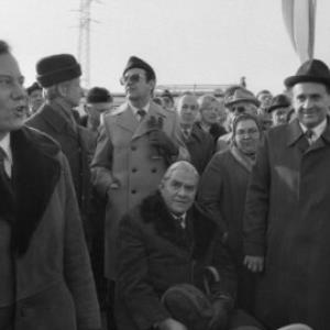 Eröffnung des Pfändertunnels / Rudolf Zündel von Zündel, Rudolf