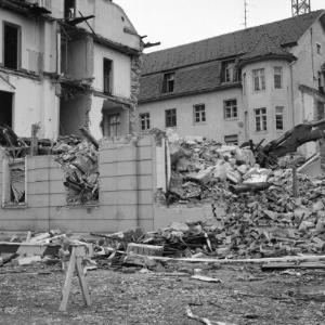 Bregenz, Abriss des alte Landeshauses / Rudolf Zündel von Zündel, Rudolf