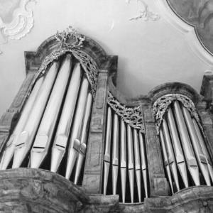 Bregenz, Kirche, St. Gallus, Orgel / Rudolf Zündel von Zündel, Rudolf