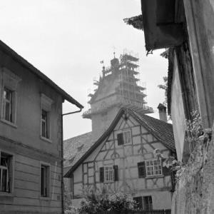 Bregenz, Kirche, St. Gallus, Kirchturmrenovierung / Rudolf Zündel von Zündel, Rudolf