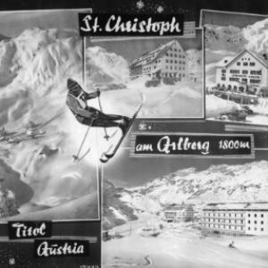St.Christoph am Arlberg 1800 m Tirol / Austria von Risch-Lau
