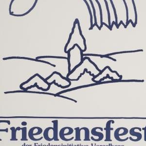 Friedensfest der Friedensinitiative Vorarlberg mit Texten und Liedern / Reinhold Luger ; Friedensinitiative Vorarlberg von Luger, Reinhold