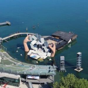 Bregenz, Seebühne, Festspiele, Bodensee / Stefanie Grüssl von Grüssl, Stefanie