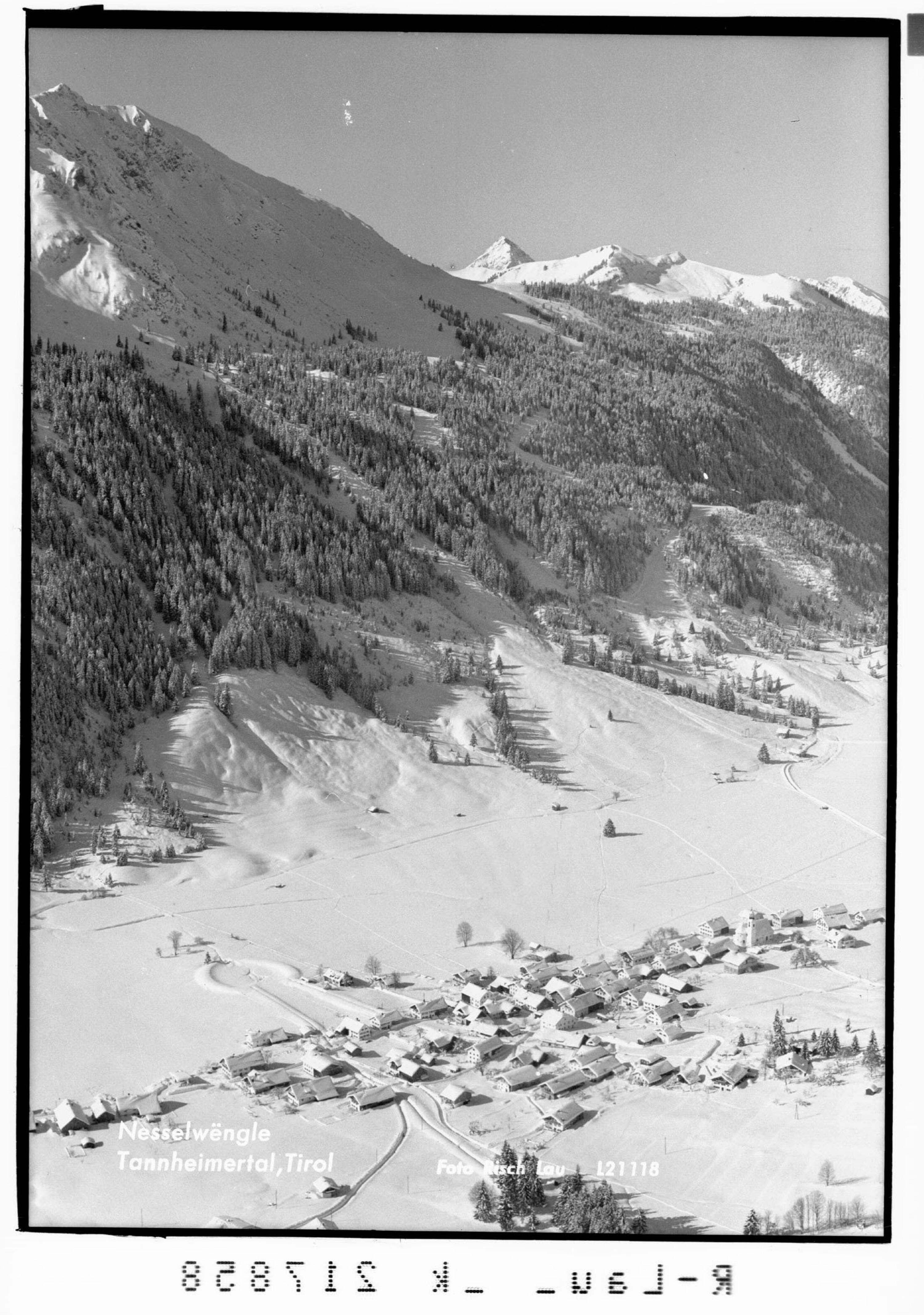 Nesselwängle Tannheimertal, Tirol von Risch-Lau