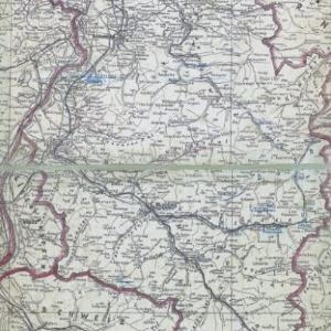 Provisorische Landkarte von Vorarlberg von [Verlag nicht ermittelbar]