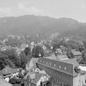 Bregenz vom Gymnasium aus / Rudolf Zündel von Zündel, Rudolf