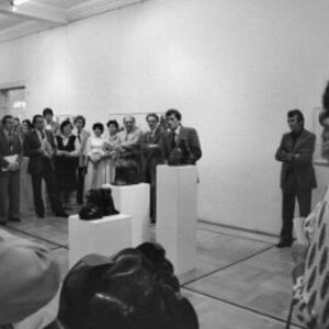 Ausstellungseröffnung von Herbert Albrecht im Künstlerhaus / Rudolf Zündel von Zündel, Rudolf
