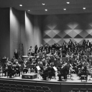 Probe der Wiener Philharmoniker mit dem Wiener Jeunesse Chor und den Wiener Sängerknaben / Rudolf Zündel von Zündel, Rudolf