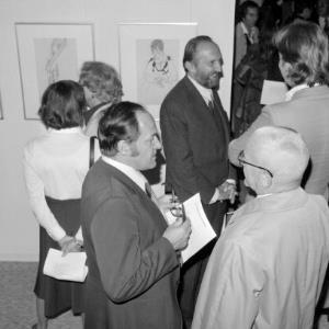 Walter Koschatzky bei der Schiele- Ausstellung in Dornbirn / Rudolf Zündel von Zündel, Rudolf