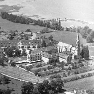 Bregenz, Kloster Mehrerau von Alpine Luftbild GmbH