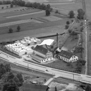 Dornbirn, Wallenmahd, Landgraben, Landesstraße 190, Westbahn, Firma David Fussenegger von Alpine Luftbild GmbH