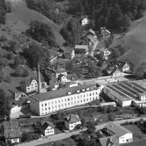 Dornbirn, Eulental, Firma FM Hämmerle von Alpine Luftbild GmbH
