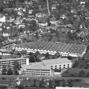 Dornbirn, Sägerstraße, Textilschule, Fa. FM Hämmerle von Alpine Luftbild GmbH