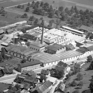 Hohenems, Landesstraße 190, Schwefelbad, Firma Otten von Alpine Luftbild GmbH