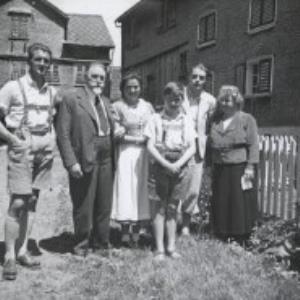 Familie Bertolini in Schwarzenberg / Fotograf: Norbert Bertolini von Bertolini, Norbert