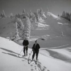 Bödele, Skilauf / Fotograf: Norbert Bertolini von Bertolini, Norbert
