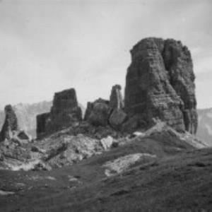 Dolomiten, Cinque Torri / Fotograf: Norbert Bertolini von Bertolini, Norbert