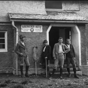 Biberacher-Hütte / Fotograf: Norbert Bertolini von Bertolini, Norbert