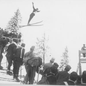 Skisprungwettbewerb / Fotograf: Norbert Bertolini von Bertolini, Norbert