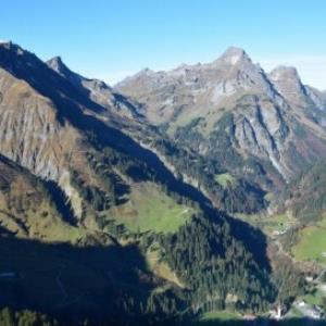 Schröcken - Stutz, Oberboden, Unterboden, Wald von Amt der Vorarlberger Landesregierung Abteilung Raumplanung