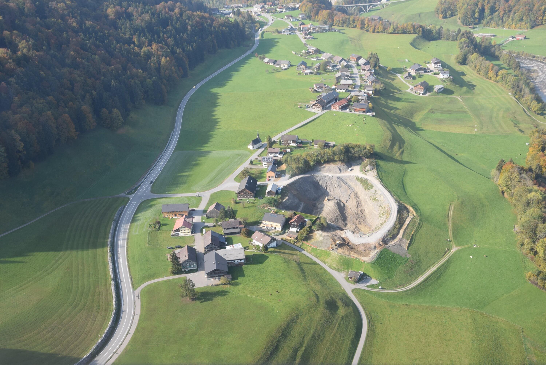 Bersbuch, Kiesgrube von Amt der Vorarlberger Landesregierung Abteilung Raumplanung