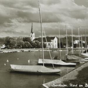 Sporthafen, Hard am Bodensee / Aufnahme Branz von Branz, ...