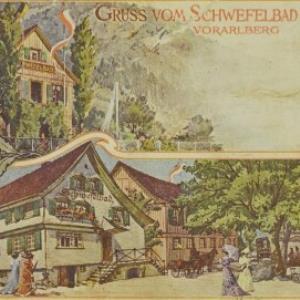 Gruss vom Schwefelbad Hohenems von Gebrüder Bertschi