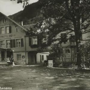 Schwefelbad Hohenems / Aufnahme G. Feiner von Feiner, ...