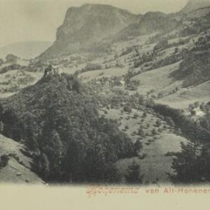 Hohenems von Alt-Hohenems von Würthle u. Sohn