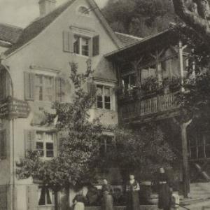 Gruss aus Kennelbach b. Bregenz von Galehr, J. B.