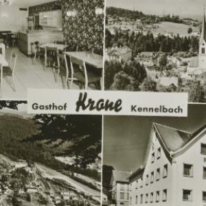 Gasthof Krone Kennelbach / Aufnahme Branz von Branz, ...