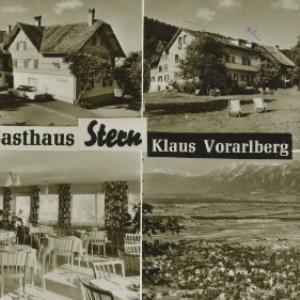 Gasthaus Stern Klaus Vorarlberg / Aufnahme Branz von Branz, ...