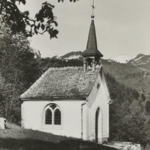 Kapelle bei Klaus Vlbg. / Aufnahme Rhomberg von Rhomberg, ...