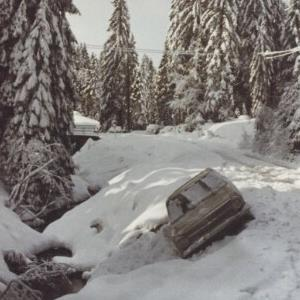 Unfall auf der Bödelestraße / Fotograf: Norbert Bertolini von Bertolini, Norbert