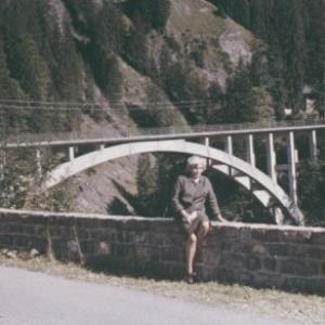 Tannbergbrücke / Fotograf: Norbert Bertolini von Bertolini, Norbert