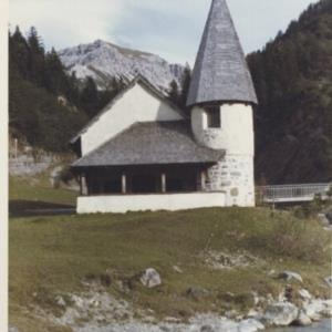 Malbun, Kapelle Steg / Fotograf: Norbert Bertolini von Bertolini, Norbert