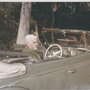 Norbert Bertolini mit seinem VW Käfer Cabrio / Fotograf: Norbert Bertolini von Bertolini, Norbert