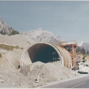 Langen am Arlberg, Straßenbau / Fotograf: Norbert Bertolini von Bertolini, Norbert