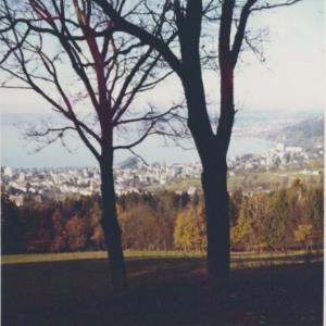 Bregenz von der Fluh aus / Fotograf: Norbert Bertolini von Bertolini, Norbert