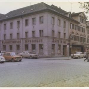 Bregenz, Österreichische Länderbank / Fotograf: Norbert Bertolini von Bertolini, Norbert