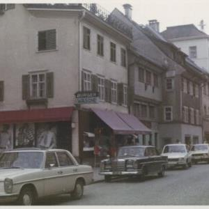 Bregenz, Burger Wäsche / Fotograf: Norbert Bertolini von Bertolini, Norbert