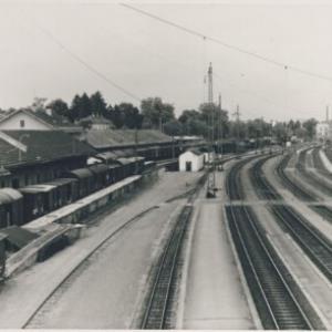 Bregenz, Gleisanlagen / Fotograf: Norbert Bertolini von Bertolini, Norbert